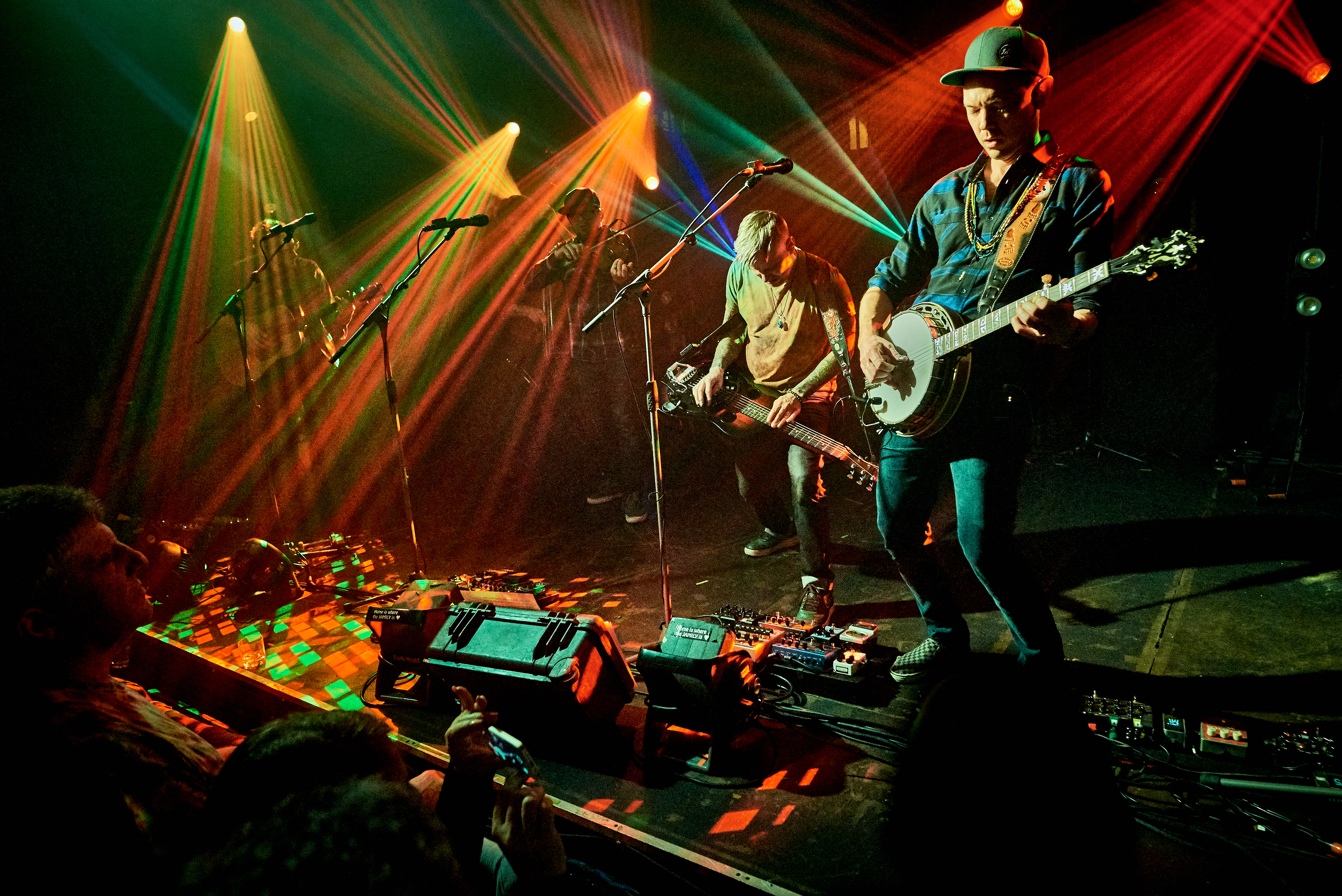 The Infamous Stringdusters' Trippy Tour Closer in Bellingham